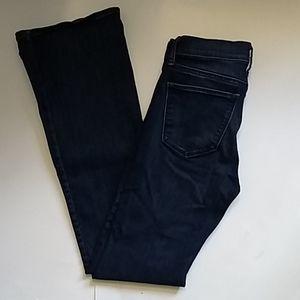 Gap Jeans Stretch Perfect Boot Jeans Dk Indigo 26R